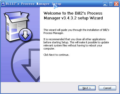 Bill2's Process Manager V3.4.3.2 绿色免费版